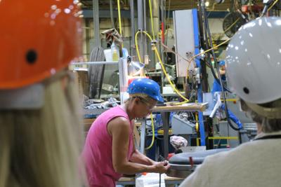 Hedstrom hosts Ashland Chamber for factory tour