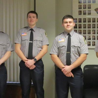 5 Mansfield firefighters sworn in during somber ceremony
