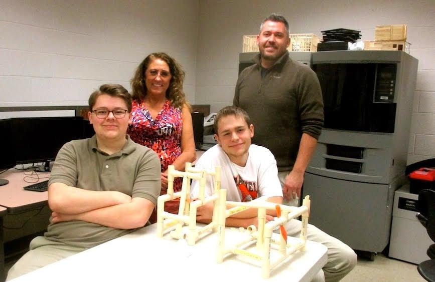 Mansfield Sr engineering class