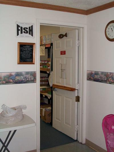 Shelby FISH food pantry