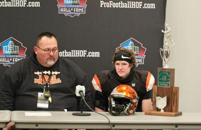Lucas players, coach reflect on lifetime experience at state finals