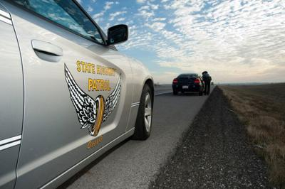 Ohio State Highway Patrol car