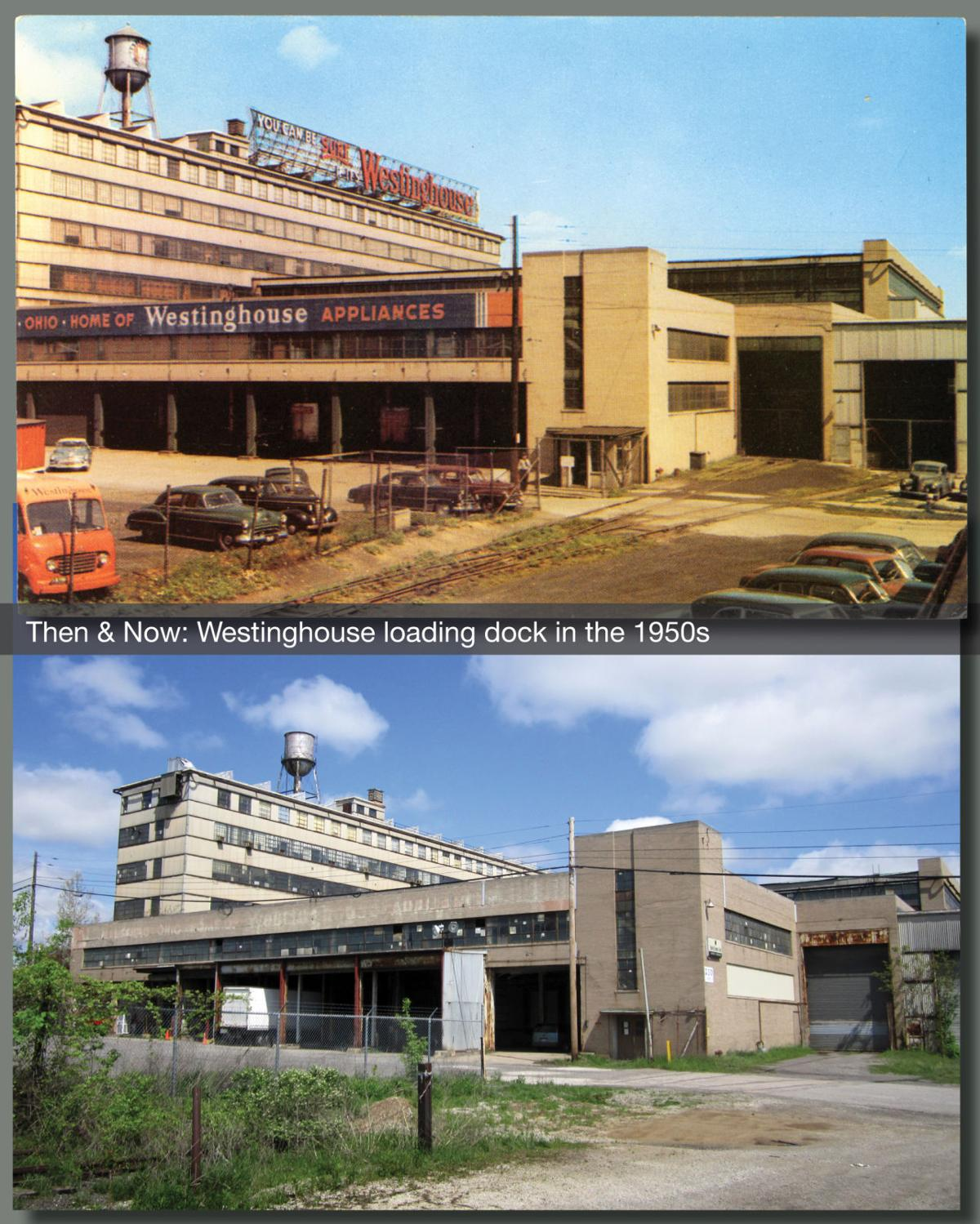 Then & Now: Westinghouse dock 1950s