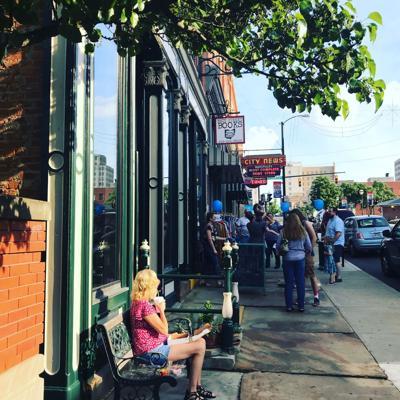 Artisans and entrepreneurs set up weekend pop up shop