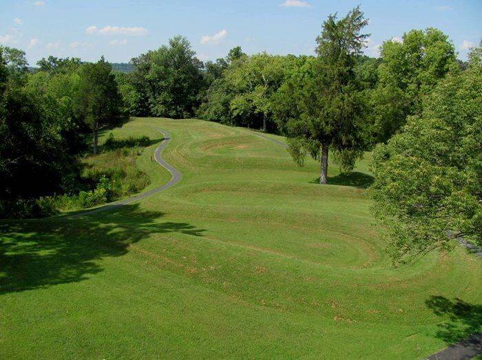 Serpent Mound in Adams County