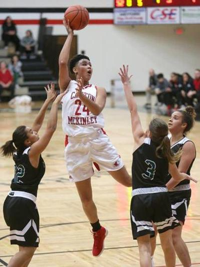 Canton McKinley's Kierstan Bell three-peats as Ohio Ms. Basketball