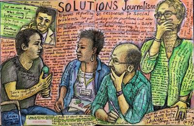 Solutions Journalism illustration