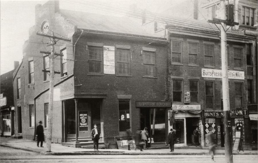 Fourth & Main 1800s