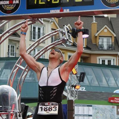 Lexington man crosses Ironman race off bucket list