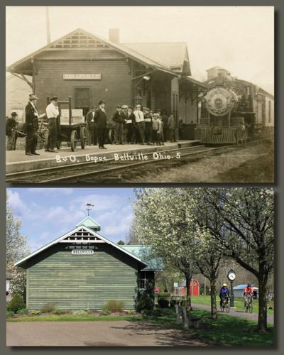 Then and now: Bellville Depot