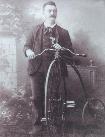 Butler bicycle went on wheels from Ohio to Nebraska to Missouri and back