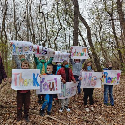 Springmill STEM wins $10k grant for outdoor classroom