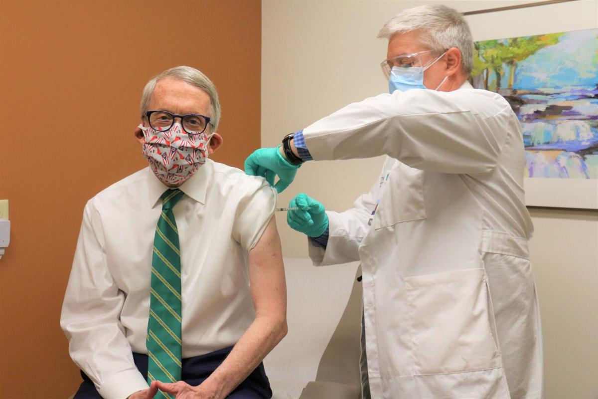 DeWine getting vaccinated