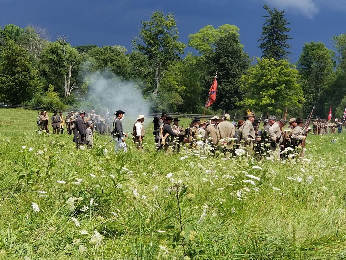 Civil War field