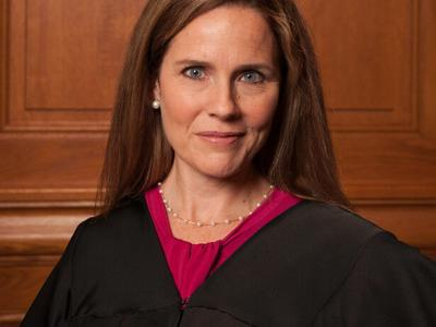 Ohio GOP applauds Amy Coney Barrett confirmation to U.S. Supreme Court; Brown opposes