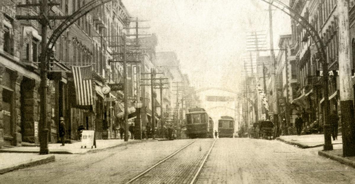 Streetcars of Mansfield on Main Street