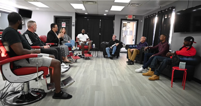 Introducing Shop Talk, a series of conversations about race and reconciliation in Mansfield