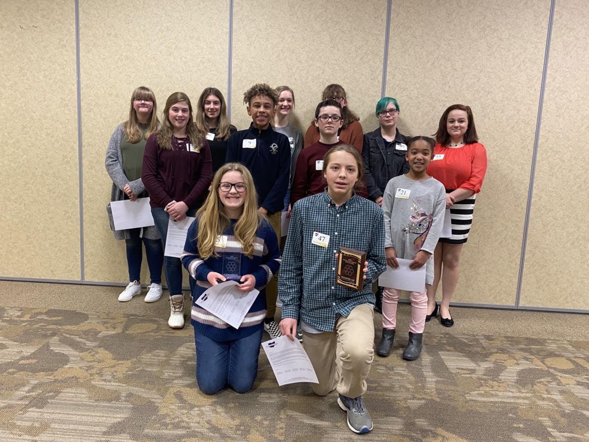 Richland County Spelling Bee winners