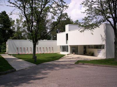Mansfield Art Center building