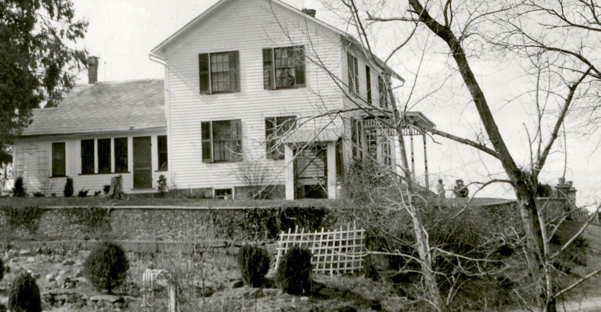 The Herring farmhouse