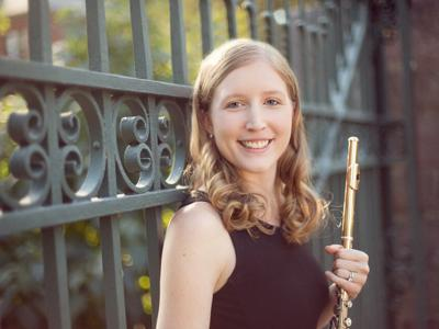 Flutist Angela Massey to perform April 12 at St. Peter's Catholic Church