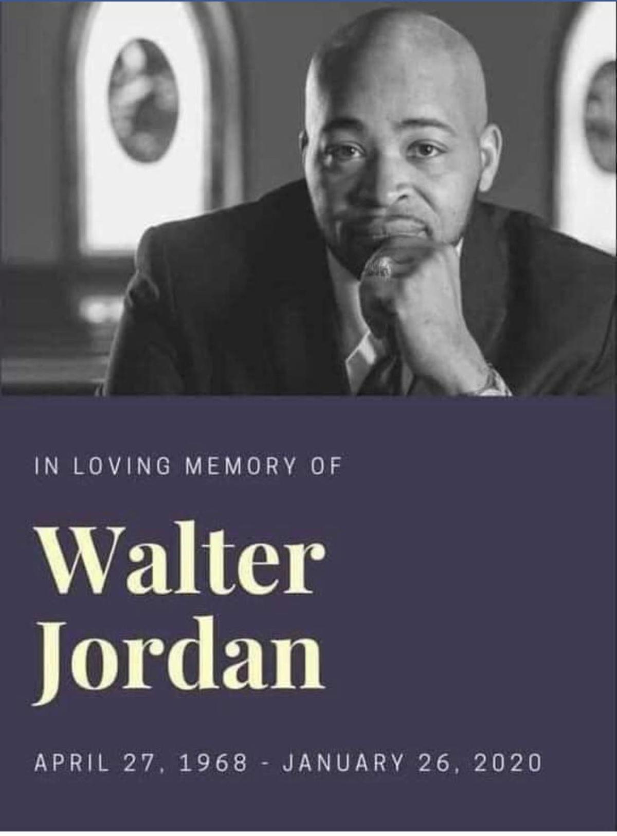 RIP Walter Jordan