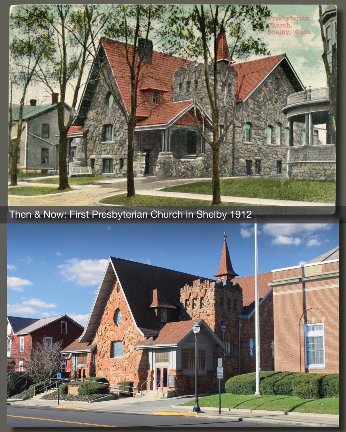 Then & Now: 1st Presbyterian 1912