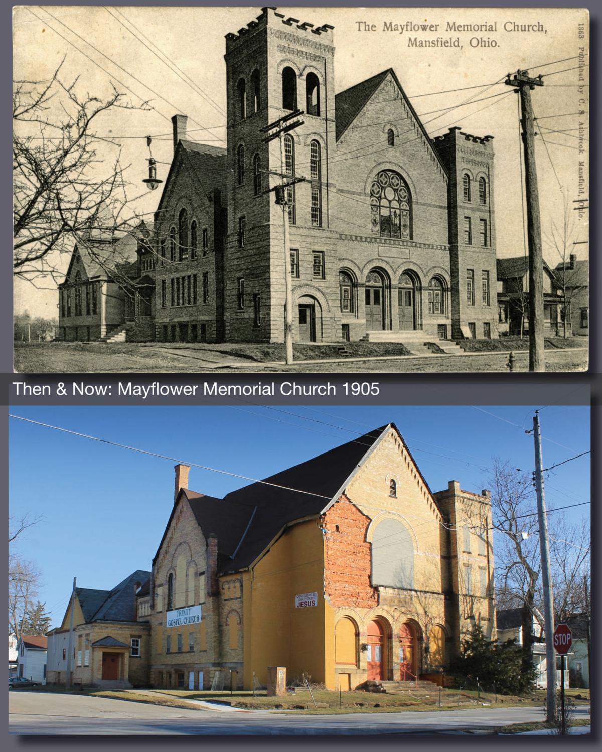 Then & Now: Mayflower Memorial