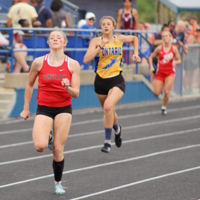 Shelby trio qualify for state at Division II Lex regional track meet