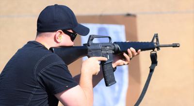 Shooting range opens