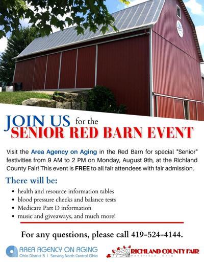 Senior Citizen Red Barn