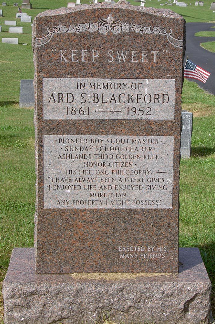 Ard Blackford Memorial