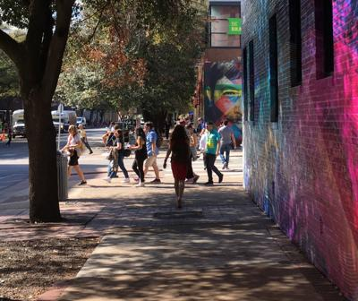 Walkable cities combine the destination with the journey