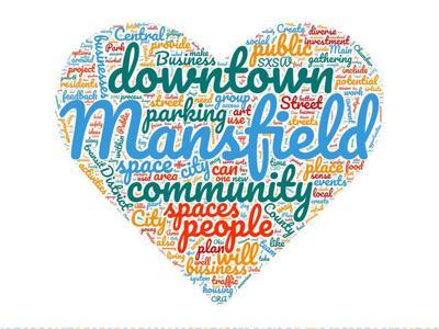 Downtown Mansfield logo