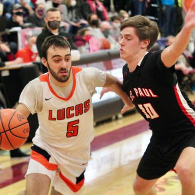 GALLERY: Lucas vs. Norwalk St. Paul Boys Basketball