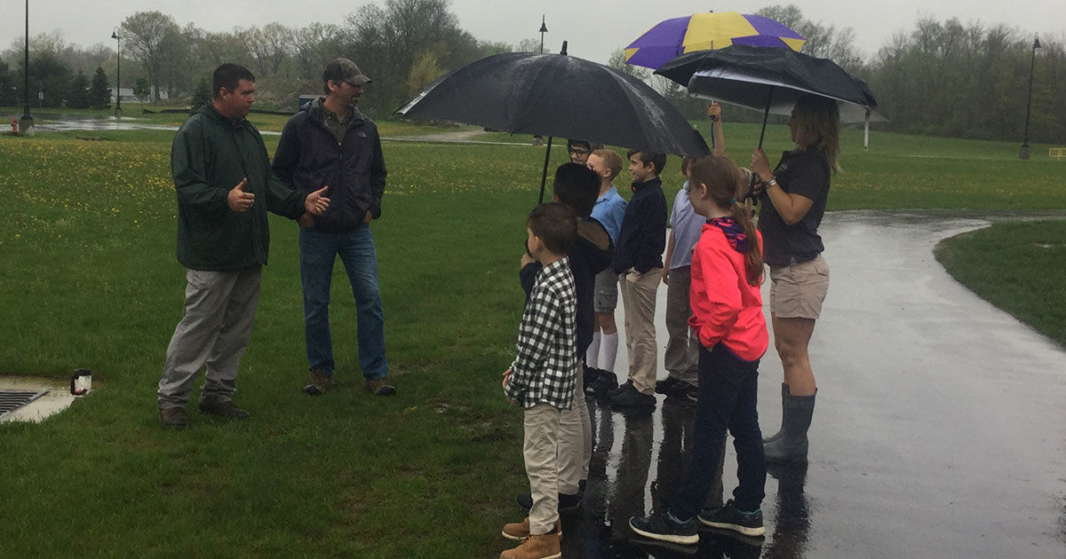 Crawford County businesses help to educate Galion students on the environment