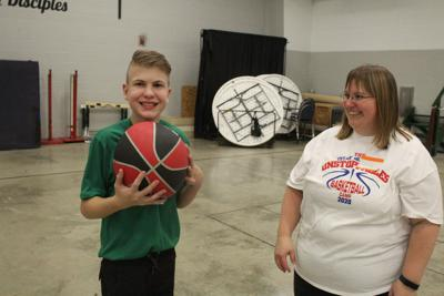 Bellville's Unstoppables League launches special needs basketball camp