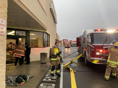 Fire at Burlington leaves smoke throughout building
