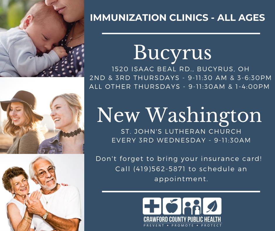 Immunization clinics 2021