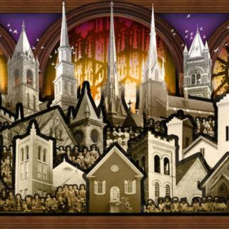 City of Churches: The Mural