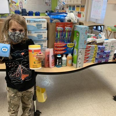 Discovery School students, staff embark on multiple make-a-difference projects