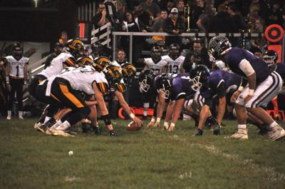 Northmor's offensive line