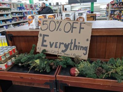 Sale at Stoodt's market