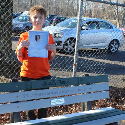 Heart to Heart: Bench at Eastview honors former student