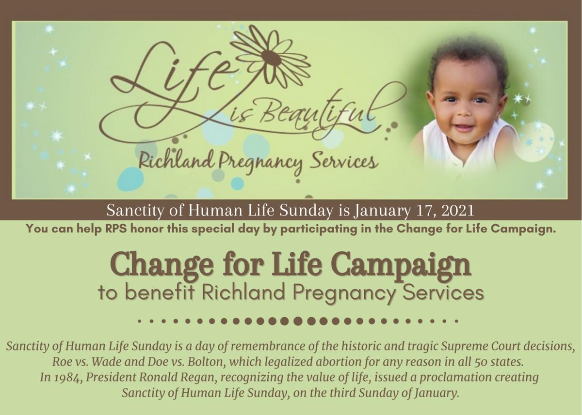 Sanctity of Human Life Sunday January 17, 2021