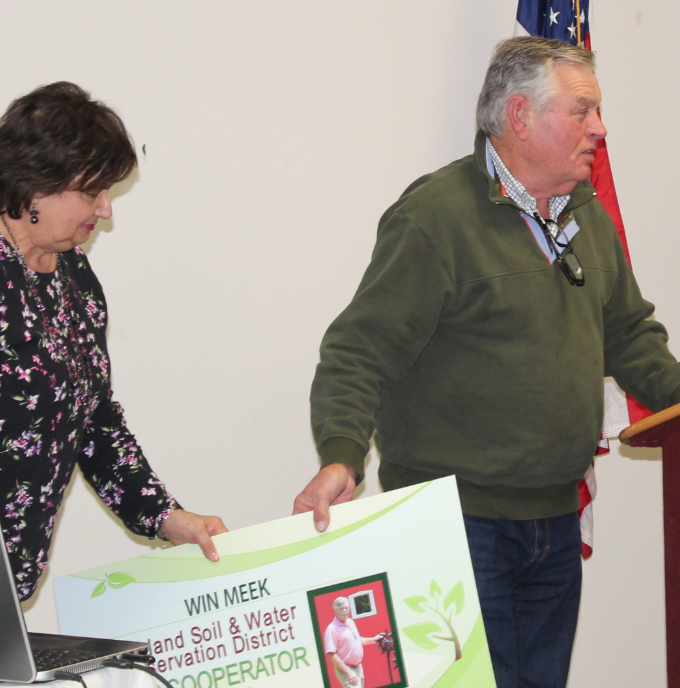 Win Meek at Richland Soil