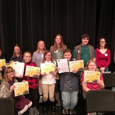 Crawford County crowns spelling bee champion