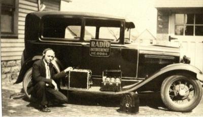 Ray Holifield's radio truck