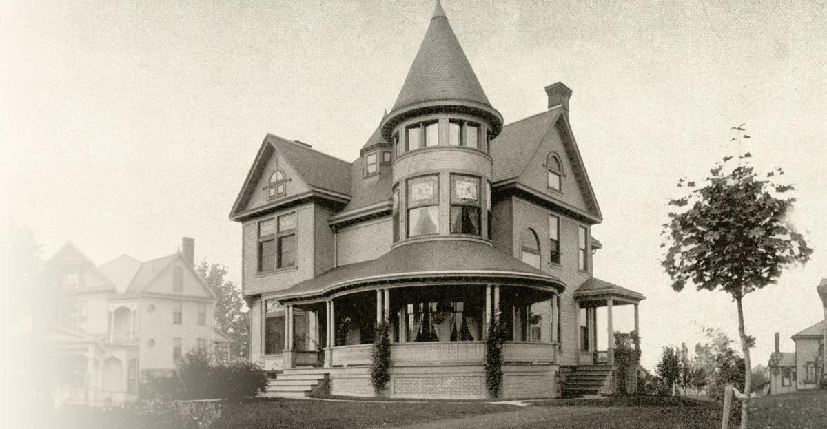 The Voegele Home on Park Avenue West 1894