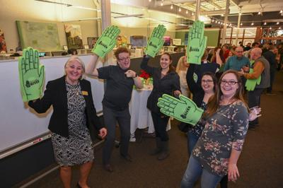 Richland Gives event at Idea Works